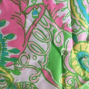 Lilly Pulitzer Cotton Napkins/fabric, Set of 4